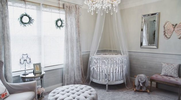 15 Fantastic Shabby-Chic Nursery Designs For The Newest Members Of Your Family
