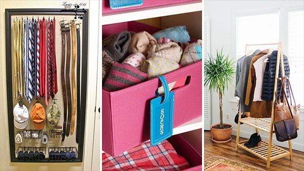 15 Great DIY Closet Storage And Organization Tips & Tricks