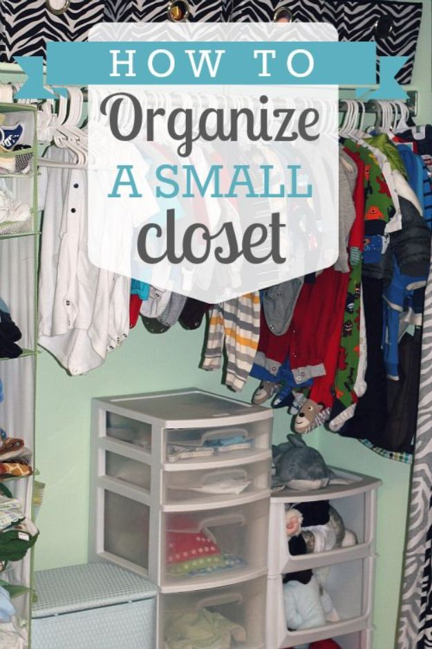 Diy Closet Organization For Kids
