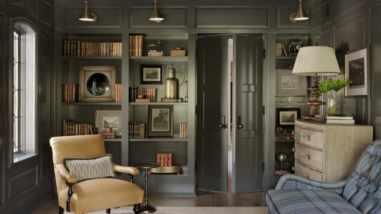 15 Interesting Shabby Chic Home Office Interiors With Unique