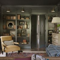 15 Interesting Shabby-Chic Home Office Interiors With Unique Looks
