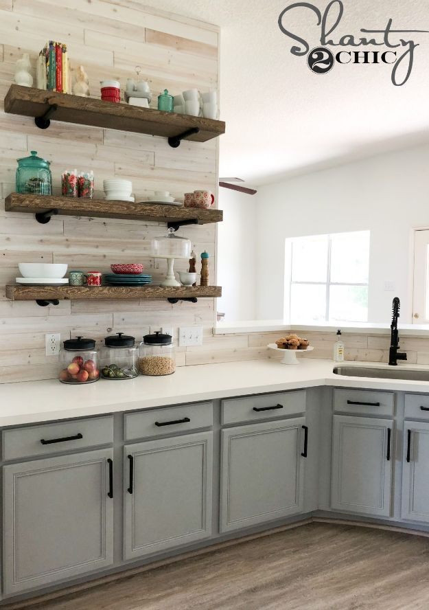 15 Stellar DIY Ideas That Will Help You Update Your Kitchen Cabinets