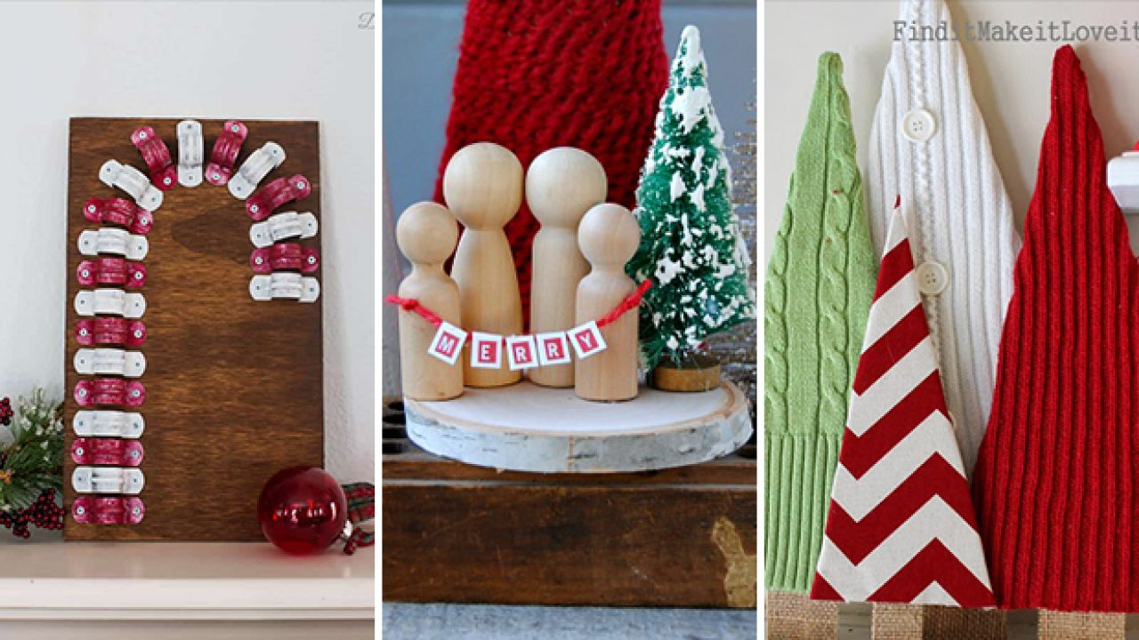 Christmas Decoration Ideas Diy.15 Superb Last Minute Diy Christmas Decor Ideas To Make Or Gift