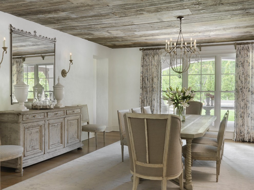 17 Beautiful Shabby-Chic Dining Room Designs You Must See