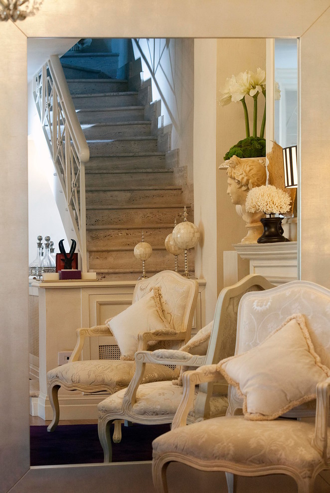 18 Charming Shabby-Chic Staircase Designs You Should See