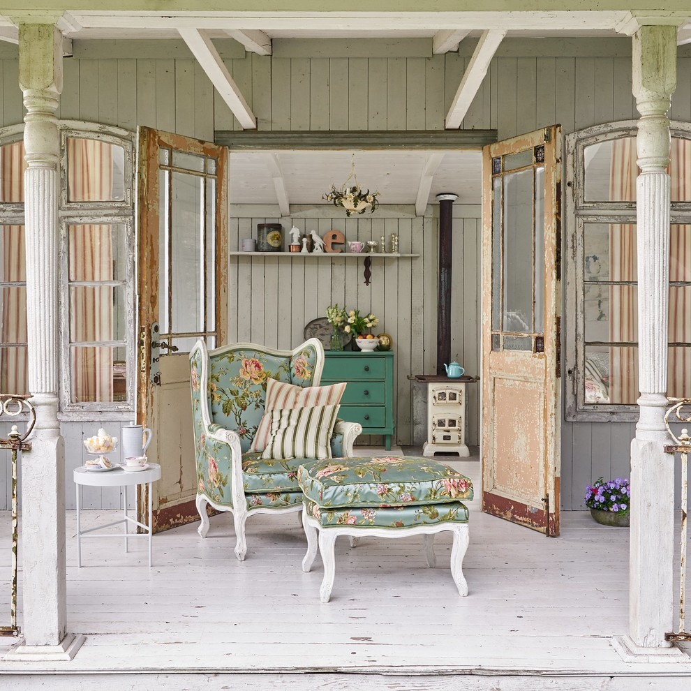 18 Magnificent Shabby Chic Porch Designs That Are Too Cute