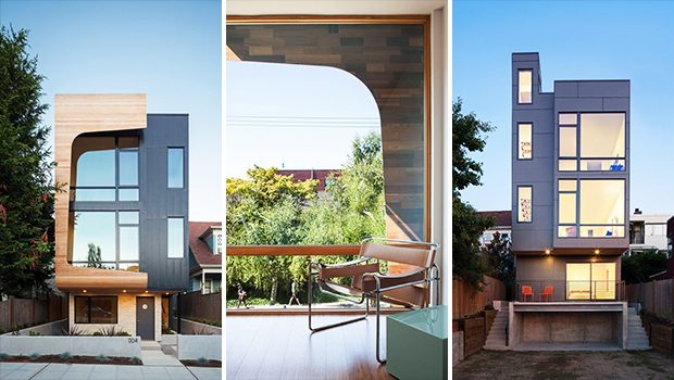 18th Ave City Homes by Malboeuf Bowie Architecture in Seattle, Washington