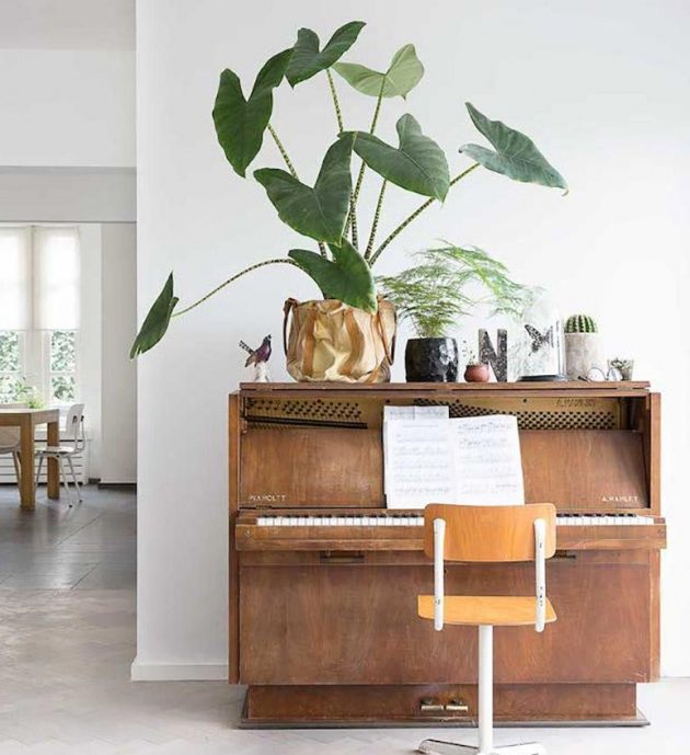 Piano In The Interior  15 Creative Ideas How To Decorate It