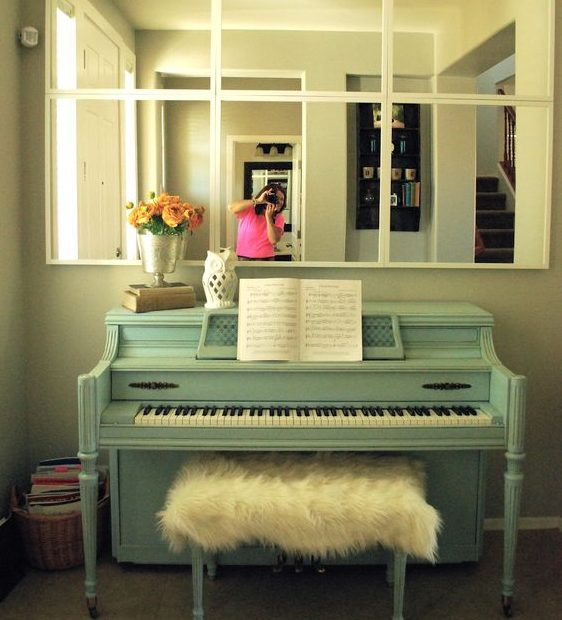 Piano In The Interior- 15 Creative Ideas How To Decorate It