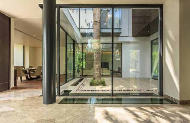 Caryota House by Dada & Partners in New Delhi, India