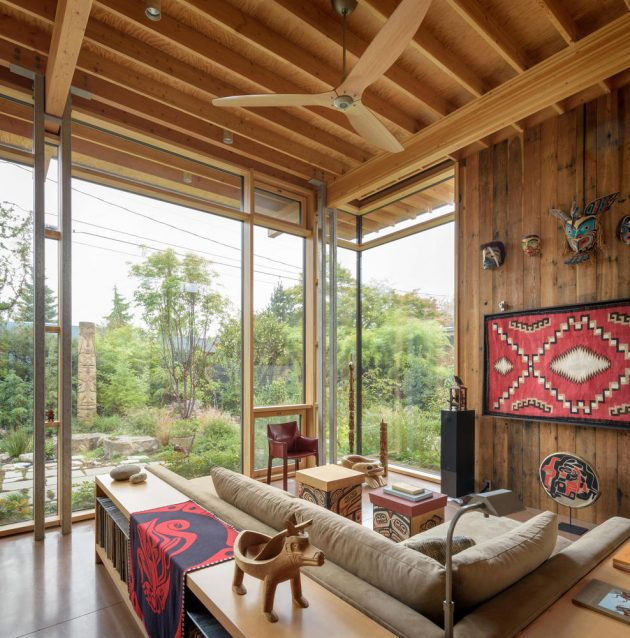 City Cabin By Olson Kundig In Seattle Washington