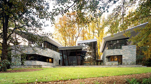 Glenbrook Residence by David Jameson Architect in Bethesda, Maryland