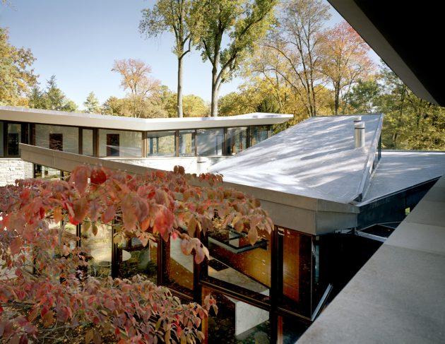 Glenbrook Residence by David Jameson Architect in Bethesda, Maryland