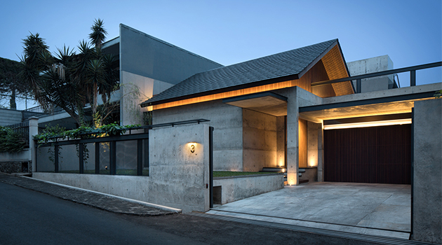 Hikari House by Pranala Associates in Bandung, Indonesia