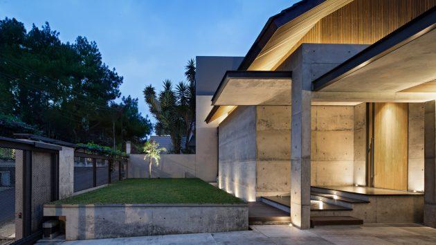Hikari House by Pranala Associates in Bandung, Indonesia