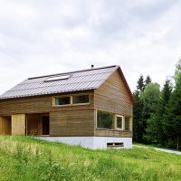 House in Tschengla by Innauer-Matt Architekten in Bürserber, Austria