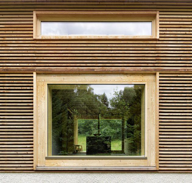 House in Tschengla by Innauer Matt Architekten in Bürserber, Austria