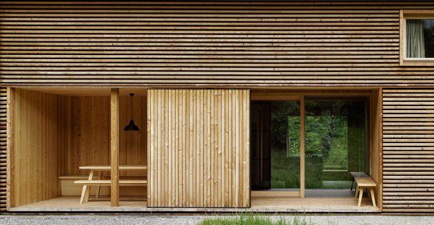House in Tschengla by Innauer-Matt Architekten in Bürserber, Austria
