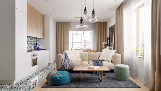 Size Up Your Small Space: 5 Ways To Make Small Rooms Look Larger