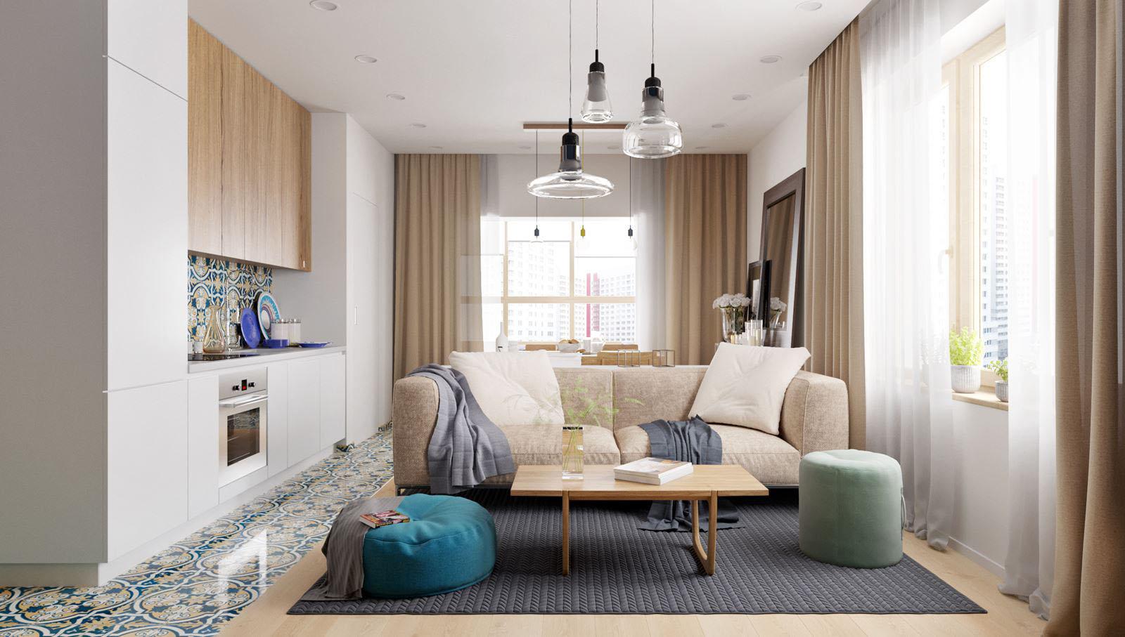 Small Studio Apartment Design Tiny Spaces