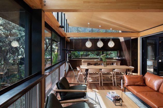 Kawakawa House By Herbst Architects In Piha New Zealand