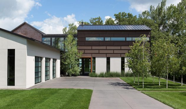 Lake Waconia House by ALTUS Architecture + Design in Minnesota, USA