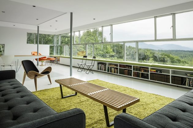 Tower House by Gluck+ in Syracuse, New York