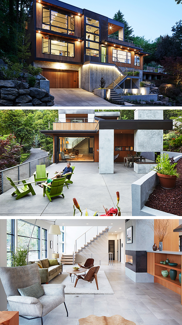 Valle Vista House by Giulietti Schouten Architects in Portland, Oregon