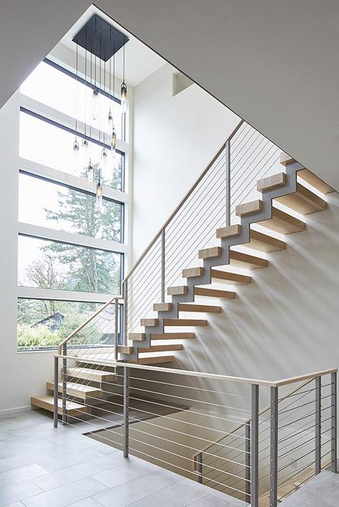 Valle Vista House by Giulietti Schouten Architects in Portland, Oregon