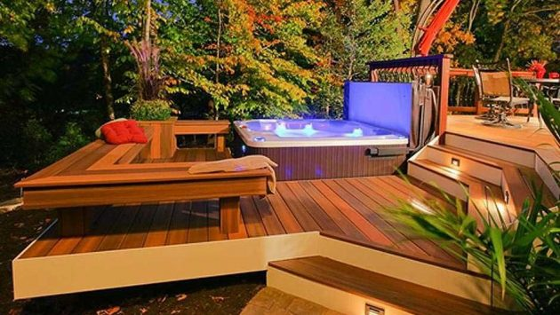Tips and Ideas To Adding a Hot Tub or Spa To Your  Backyard
