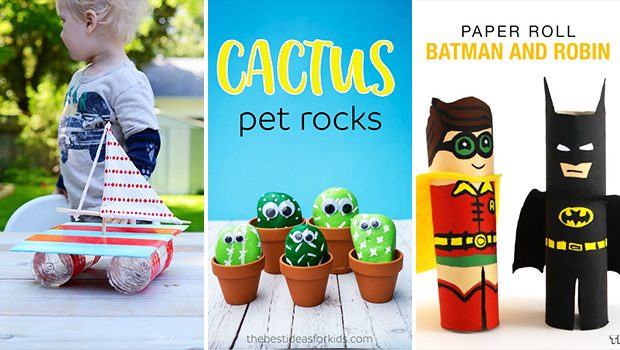 15 Absolutely Easy DIY Crafts For Kids To Do Over The Weekend