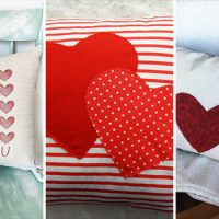15 Charming Handmade Valentine's Day Pillow Designs That Make Great Gifts