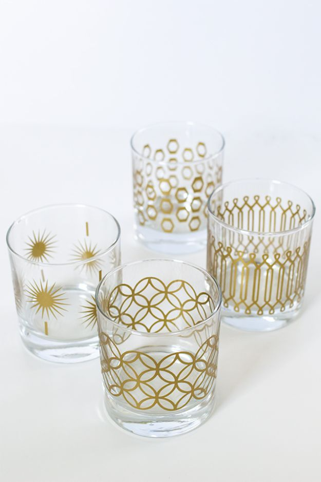 15 Creative DIY Ideas To Update Your Old Glassware For Free