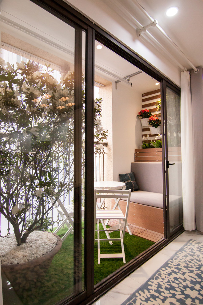 15 Wonderful Shabby Chic Balcony Designs With Plenty Of Greenery