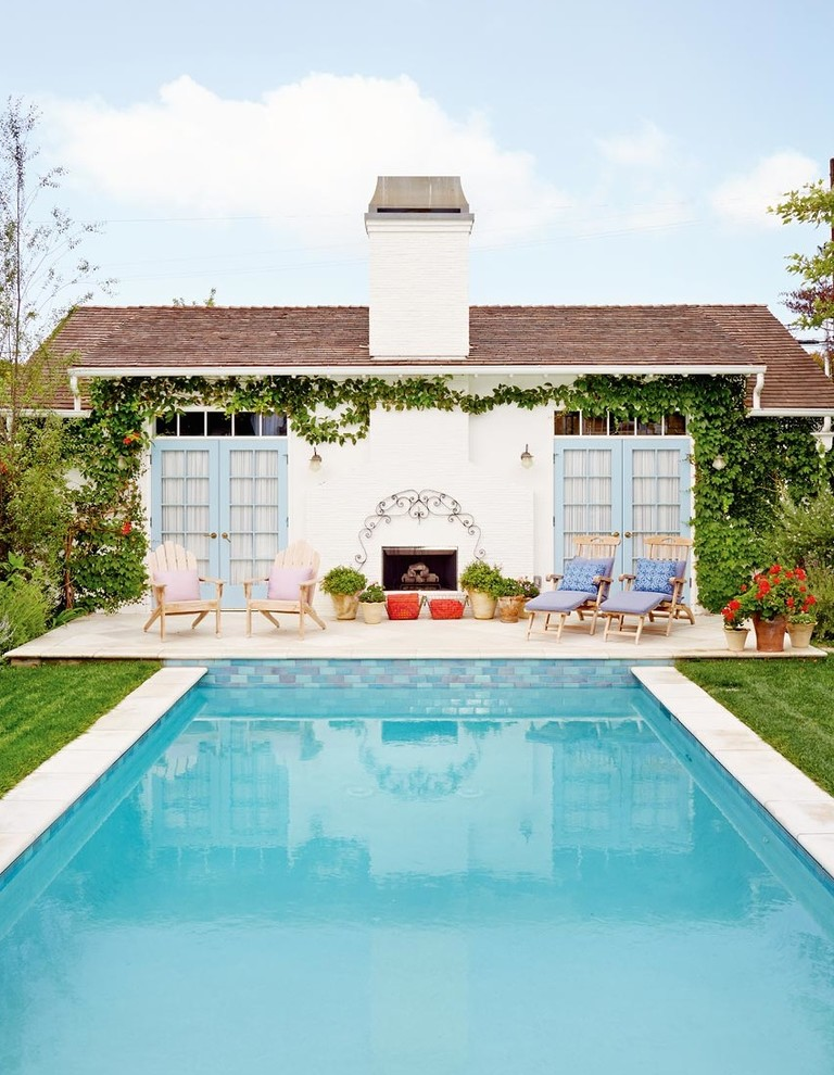 16 Outstanding Shabby Chic Swimming Pool Designs Youre Gonna Love