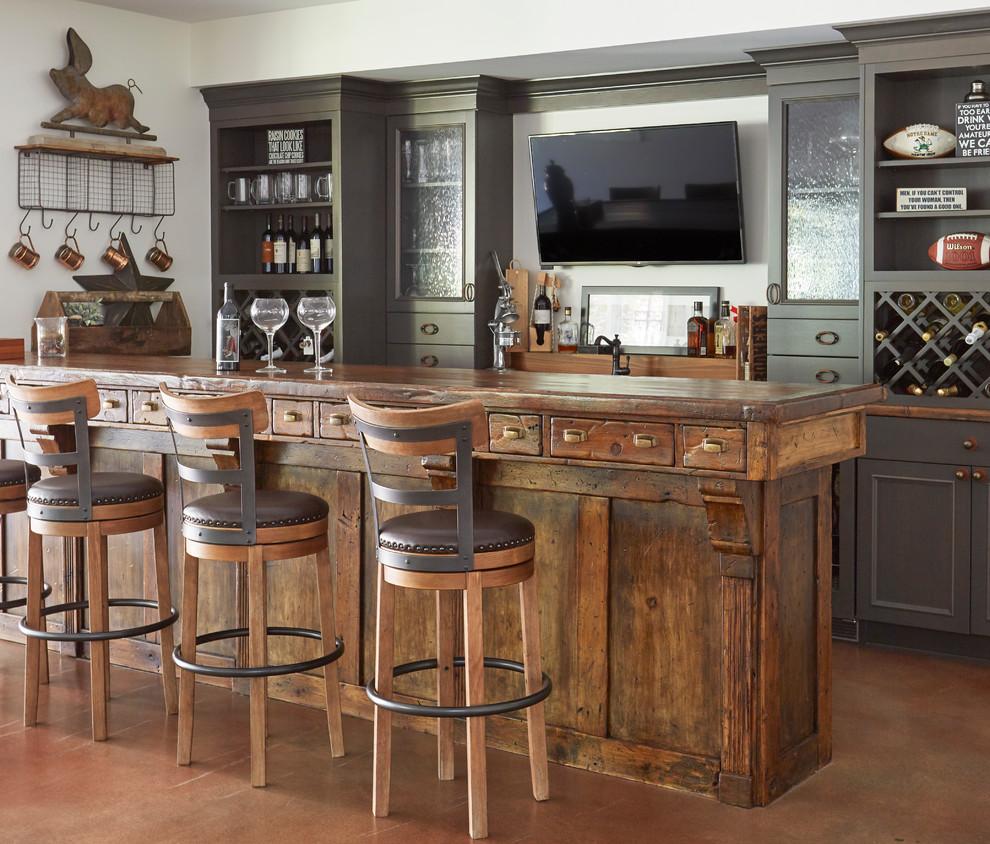 16 Ravishing Farmhouse Home Bar Interiors You Must See