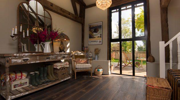 16 Superb Farmhouse Hallway Interior Designs Any Home Needs