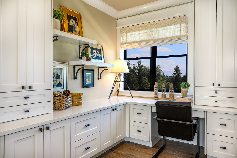 16 Tremendous Farmhouse Home Office Interiors Youre Gonna Love To Work In