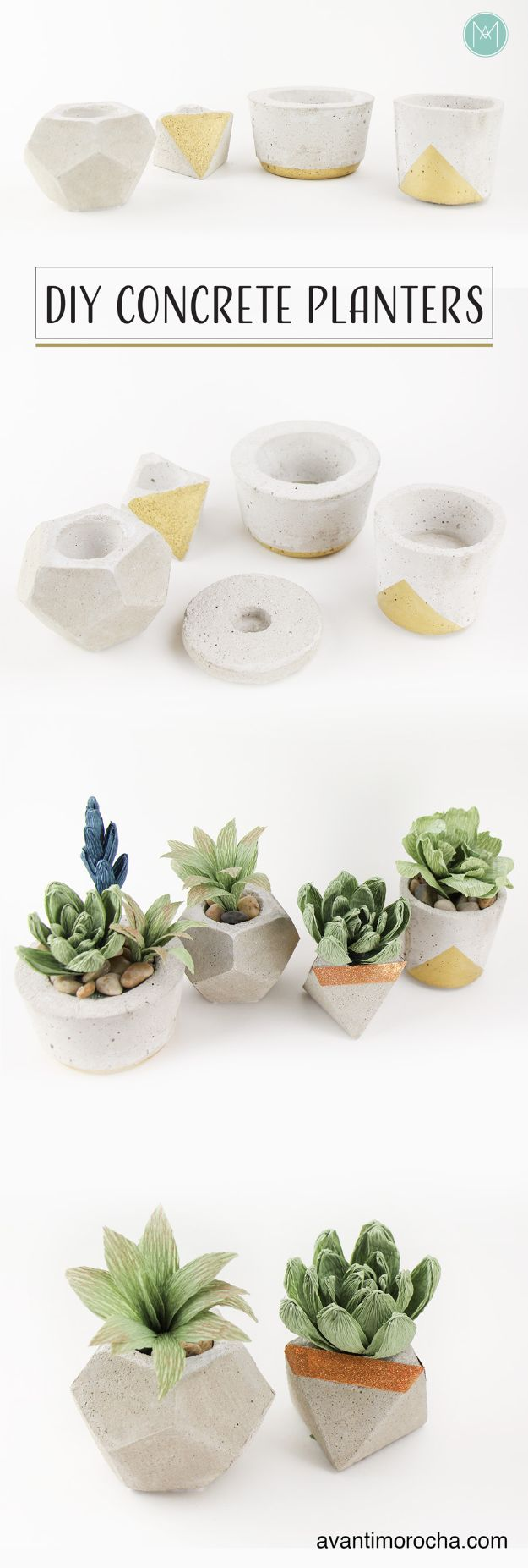 16 Wicked DIY Concrete Craft Ideas To Add To Your Decor