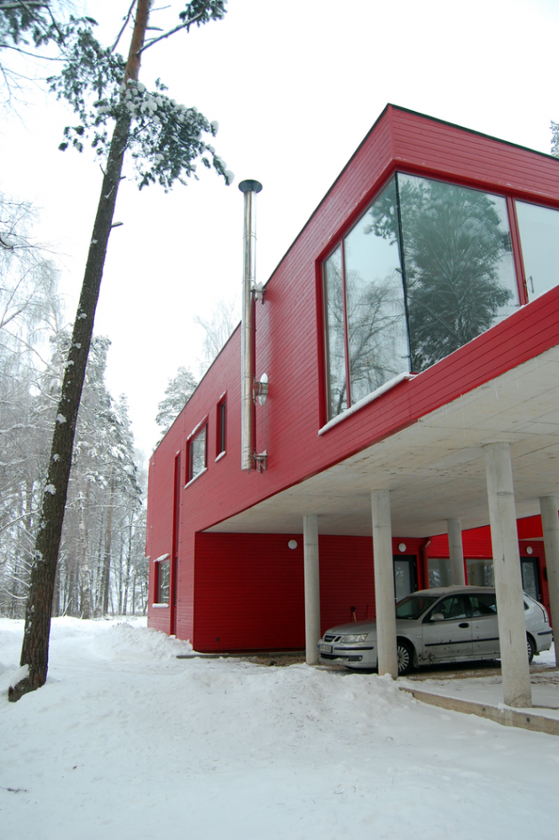 2 Sisters House by NRJA in Riga, Latvia