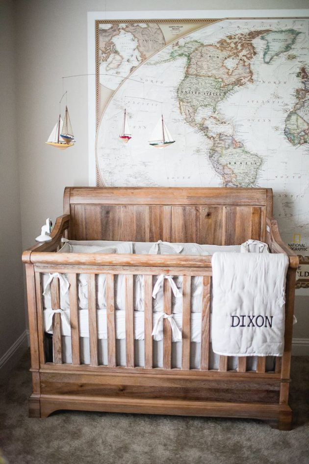 2019's Top 5 Influential Nursery Décor Trends in Europe and Beyond - White, room ideas, nursery, non-toxic, nature themed, home decor, furniture, crown motifs, baby's room, animal themed