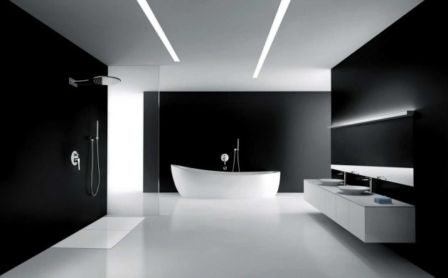 Black In The Bathroom  10 Proofs That Its Always A Great Idea