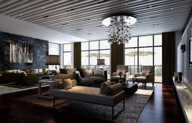 15 Alluring Ideas To Style Up Your Large Living Room