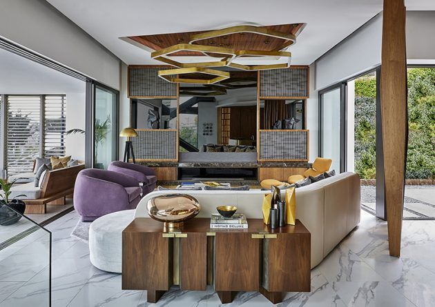 City Heights Residence by SAOTA + ARRCC Interior Design in Cape Town, South Africa