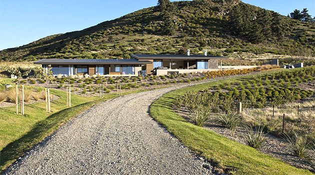Hawkesbury Residence by Marmol Radziner in Wanaka, New Zealand