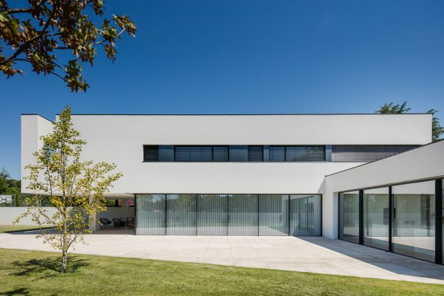 House BL by Hugo Monte in Povoa de Varzim in Portugal