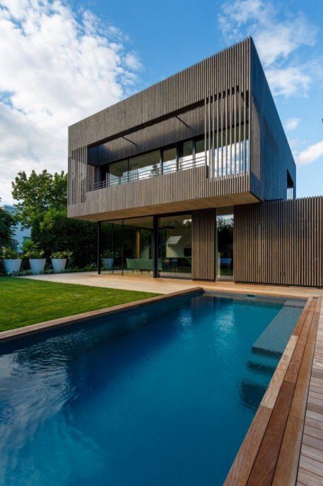 House D by Caramel Architekten &Günther Litzlbauer in Vienna, Austria