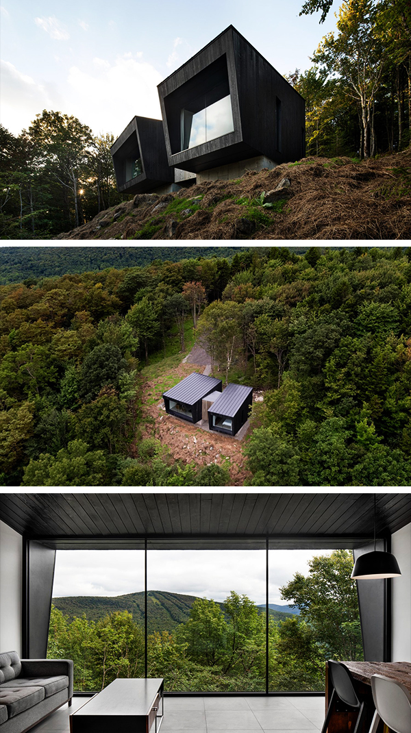 La Binocle by NatureHumaine in Quebec, Canada