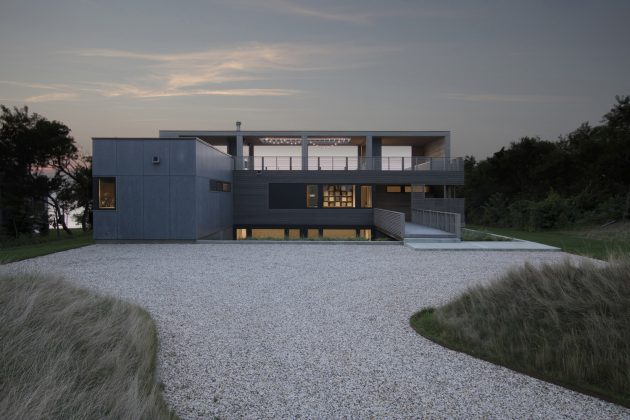 North Fork Bluff House by Resolution: 4 Architecture in Mattituck, NY