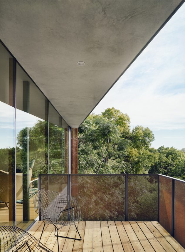 South 5th Residence By Alterstudio Architecture In Austin